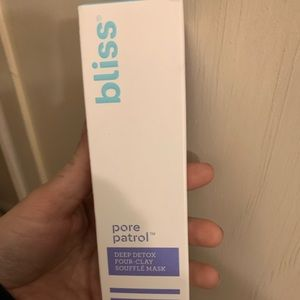 Bliss pore face wash/mask